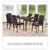 COS-CARLOS DINING SET (1+6)